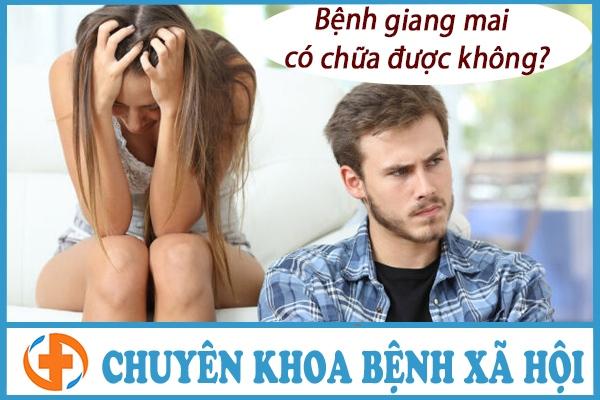 benh giang mai co chua duoc khong