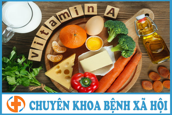 benh giang mai nen an thuc pham giau vitamin a